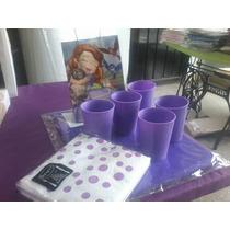 100 Vasos Plasticos Flexibles Irromplibles