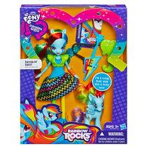 Muñecas My Little Pony Rainbow Dash !!! Con Pony !!!