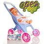 Bebe + Coche Paseo Yoly Bell Art146 / Open-toys Avellaneda