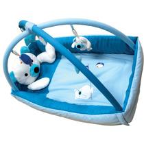 Gimnasio Alfombra Bebé Peluche Chichonera Fluffy Zippy Toys