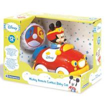 Mickey Baby Auto A Control Remoto Disney Clementoni 12+m
