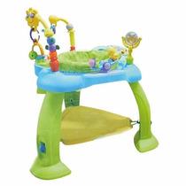 Jumper Rebotador Centro Actividades Para Bebés Celeste Smile