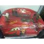 Sillón Infantil Dos 2 Doble Cars Rojo Almacen De Sonrisas