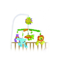 Móvil Musical Biba Toys Animales De La Jungla R&m Babies
