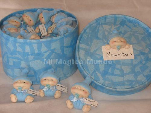 Souvenirs de nacimiento para nene - Imagui