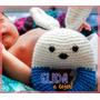 Sonajero A Crochet - Conejin // Elida...a Tejer!!