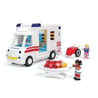 Ambulancia Wow Viene Con Un Conductor 2 Pacientes Y Rayos X