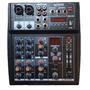 Consola Mixer Soundxtreme 6 Canales Usb 16fx Phantom La Roca