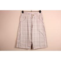 Pantalon Bermuda Siamo Fuori Principe De Gales Talle 38