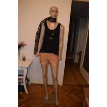Maria Cher Short Frambuni De Algodon Y Lycra Promo
