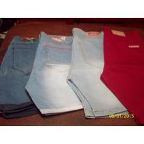 Bermudas De Jeans Del Talle 38 Al 50 Oferta!!! Excelente