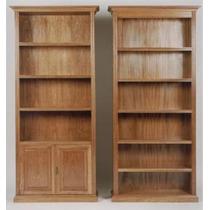 Bibliotecas De Roble, Madera Mattina Muebles.s/puertas $2790