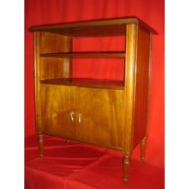Petite Mueble Gabinete Biblioteca Sobrio Elegante Cedro(1500