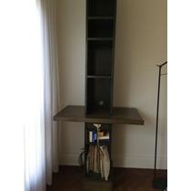 Mueble De Diseño Impecable!!! Biblioteca, Cajón, Teléfono.