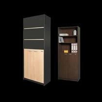 Biblioteca Platinum Mod 430 Estantes Puertas Librero Oficina