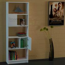 Biblioteca Melamina - Moderna - Puertas - Organizador
