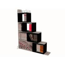 Biblioteca Melamina - Minimalista - Moderna - Organizador