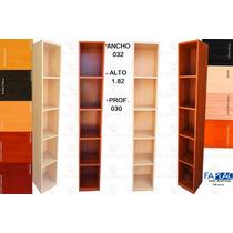 Biblioteca 0.32 Ancho X 182 Alto X 030 Prof.