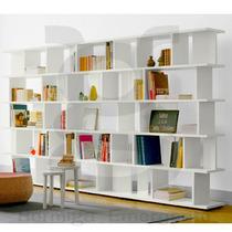 Biblioteca De Piso Repisas Estantes Melamina