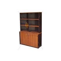 Biblioteca Con Alzada Classic Oficina - Hogar - Recepcion