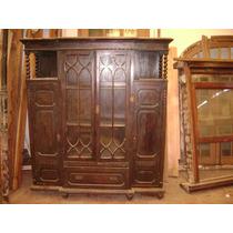 Biblioteca antigua muebles para oficinas mercadolibre - Reparar muebles antiguos ...