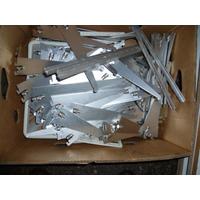 Estanterias Antiguasde Aluminio De Precision Con Vidrios