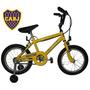 Bicicletas Rodado 16 Acero Nene Boca Nuevas Gtia
