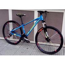 Bicicleta T/terreno Rod 29 Aluminio 21 Cambios Freno A Disco