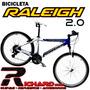 Bicicleta Raleigh Mojave 2.0 Hombre Y Damalinea 2015
