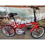 Bicicleta Plegable Halley Rodado 20 - Acero