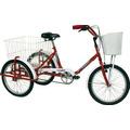 Bicicleta Tricicleta C-canasto Trasero Rodado 20