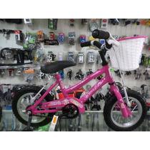 Bicicleta Rodado 12 Nena Kelinbike Ruedas Inflables
