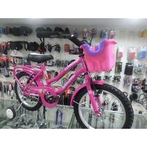 Bicicleta Playera Rodado 16 Full Dama