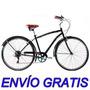Bicicleta Paseo Hombre Urbana Olmo Vincent Rod28 6v Shimano