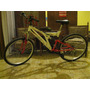 Bicicleta Mountanbike Full Suspension Rodado 26 Belda Rocky