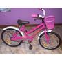 Bicicleta Playera Rod:16-dama-c/canasto+p/muñeca+guard-nueva
