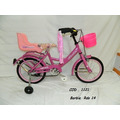 Bicicleta Barbie Rodado 14