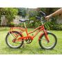 Bicicleta Niño - Niña Rodado 16 - Marvistel - Roja