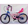 Bicicleta De Nena R/20 Sbk-recreo Aluminio (urbana Bikes)