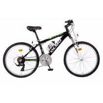 Bicicleta Olmo Rod 24 Aluminio Mtb Safari 240 18v Suspensión