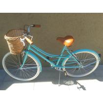Bicicleta Retro Vintage Con 6 Cambios Shimano Envios Al Int