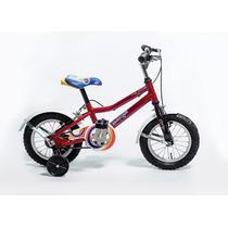 Bicicleta Rodado 12 Infantil Bmx Unisex Con Cámara Colores