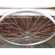 Rueda R 26 Del. Aluminio Foxter P/ Bicicletas Playeras