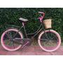 Bicicleta Inglesa Mujer Tipo Vintage Retro Clasica Colores