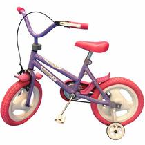 Bicicleta Infantil Rodado 12 Bici Nene Nena Ruedas Macizas