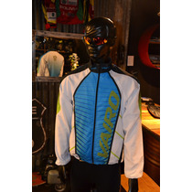Campera Vairo Colors Line Ligth Blue Bicicleta Ciclismo Mtb