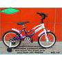 Bicicleta Playera Marca Olimpia R14 O 16 Niñas - Nena