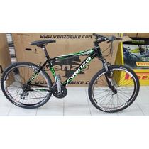 Bicicleta Mtb Venzo V-comp R26 21vel Suspension Envio Gratis