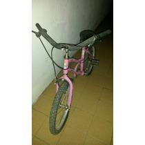 Bicicleta Niña De Barbie