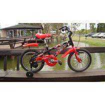 Bicicleta De Nene Sbk Hunter Rodado 16